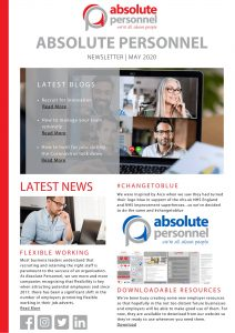 Absolute Personnel May Newsletter