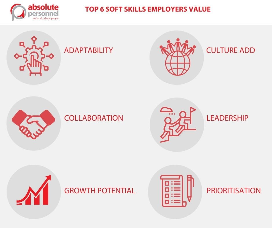 What are the tops soft skills employers look for?